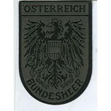 Шеврон на липучке армии Австрии, новый