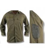 Рубашка летняя армии Австрии, олива, б/у