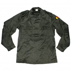 Рубашка армии Бельгии, олива, новая