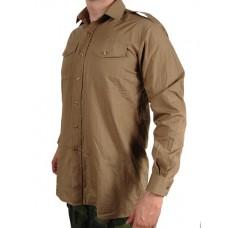 Рубашка армии Великобритании, бежевая, б/у
