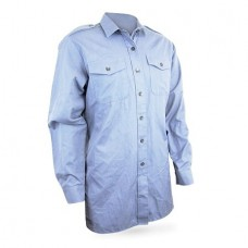 Рубашка армии Великобритании, голубая, б/у