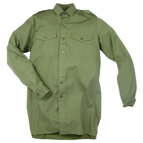 Рубашка  армии Великобритании, олива, новая