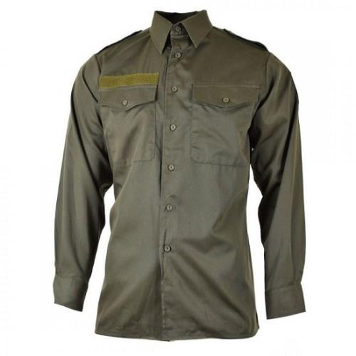 Рубашка летняя армии Австрии, олива, как новая