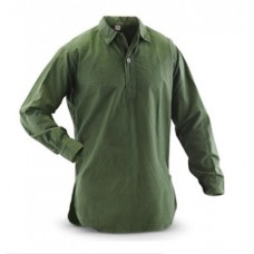 Рубашка М-55 армии Швеции, олива, б/у