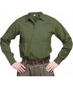 Рубашка М-55 армии Швеции, олива, новая