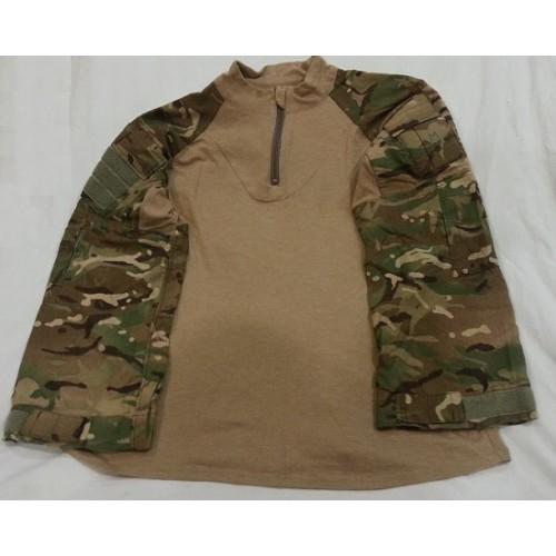 Рубашка под бронежилет из негорючего материала армии Великобритании, MTP, б/у