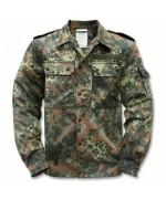 Рубашка полевая Бундесвера, флектарн, новая