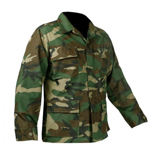 Рубашка Rip-Stop армии США ,  woodland, новая