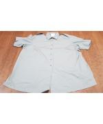 Рубашка с коротким рукавом армии Великобритании для беременных, серая, новая