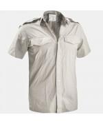 Рубашка с коротким рукавом армии Великобритании, серая, б/у хорошее состояние