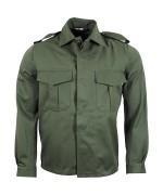 Рубашка с нагрудными карманами армии Бельгии, олива, новая