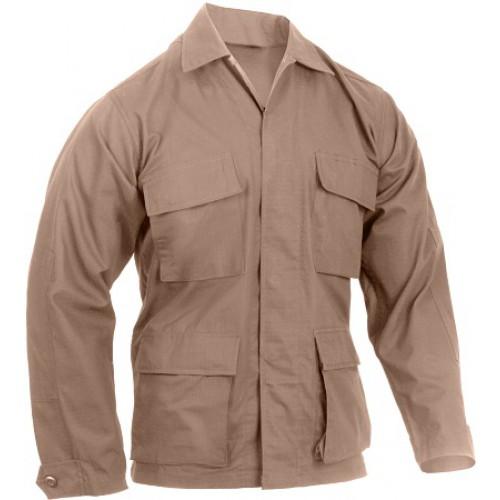 Рубашка US Rip-Stop, койот, новая