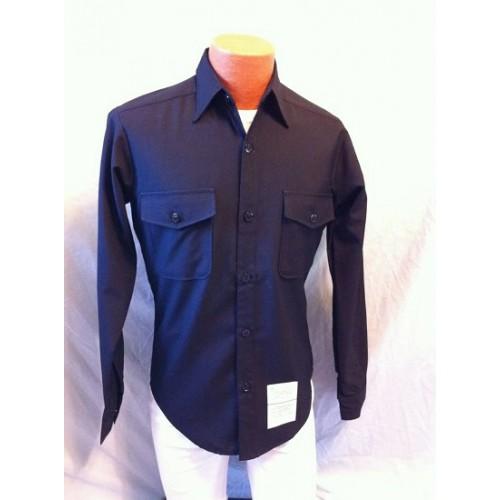 Рубашка ВМФ армии США, черная, новая