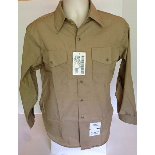 Рубашка ВМФ армии США, койот, новая