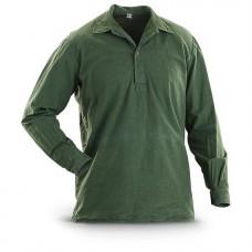 Рубашка М-59 армии Швеции, олива, б/у