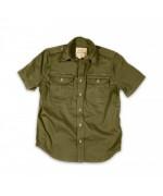 Рубаха летняя, 1/2 Plain Summer Shirt, с коротким рукавом, олива