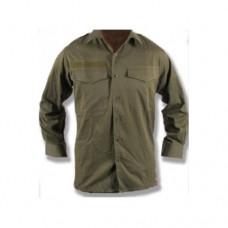 Рубаха летняя армии Австрии без шеврона, олива, б/у хорошее состояние