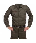 Рубашка армии  Австрии М-75, олива, новая