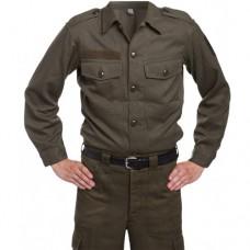 Рубашка армии  Австрии М-75, олива, как новая