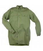 Рубашка  армии Великобритании, олива, б/у