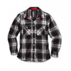 Рубашка Lumberjack Shirt, клетчатая, schwarz