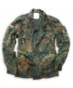 Рубашка полевая Бундесвера, флектарн, б/у