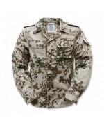 Рубашка полевая Бундесвера, тропентарн, новая