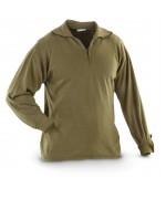 Тёплая рубашка армии Великобритании Shirt Man's Field Extreme Cold Weather Shirt Norwegian, олива, как новая
