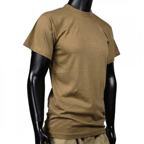 Футболка армии США, коричневая, новая