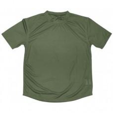 Футболка Coolmax армии Великобритании, зелёная, б/у 2 категория