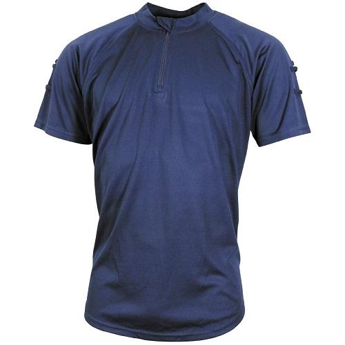 Футболка Coolmax с коротким рукавом Британской полиции, синяя, б/у