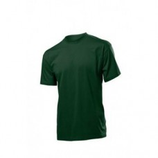 Футболка скоротким рукавом Fruit Of The Loom, тёмно-зелёная, новая