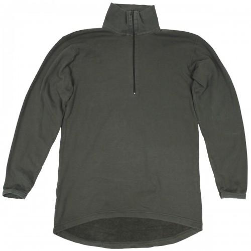 Уценка нательная рубашка для холодной погоды армии Австрии, серая, б/у
