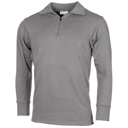 Нательная рубашка для холодной погоды армии Голландии, серая, как новая