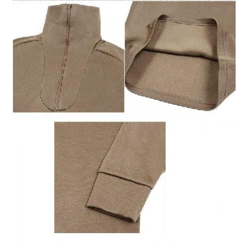 Нательная рубашка для холодной погоды армии США, brown, новая