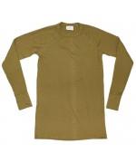 Нательная рубашка из негорючего материала армии Голландии, олива, б/у