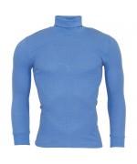 Нательная рубашка с воротом армии Австрии, голубая, новая