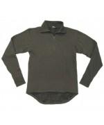 Нательная теплая рубашка Бундесвера, олива, новая
