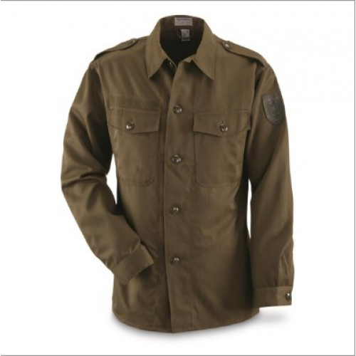 Рубашка армии Австрии М-75, олива, б/у