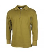 Нательная рубашка для холодной погоды армии Голландии, олива, б/у