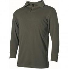 Рубашка с длинным рукавом Бундесвера, олива, б/у