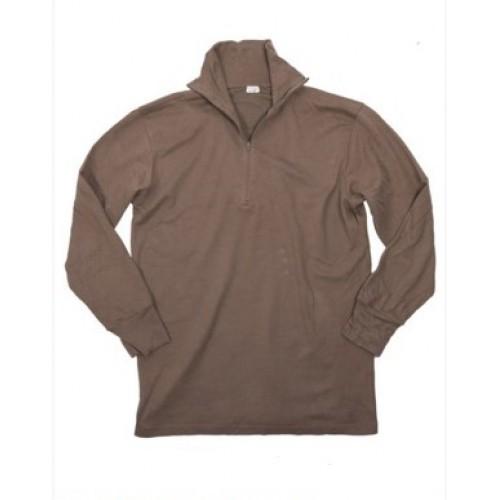 Рубашка с длинным рукавом для жаркой погоды Бундесвера, койот, б/у