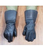 Краги мотоциклетные кожаные армии Бельгии, темно-коричневые, новые