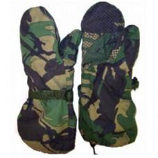 Мембранные рукавицы армии Великобритании, DPM, как новые