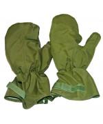 Мембранные рукавицы утеплённые МК II армии Великобритании, олива, б/у