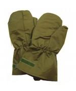 Мембранные рукавицы утеплённые МК II армии Великобритании, олива, новые