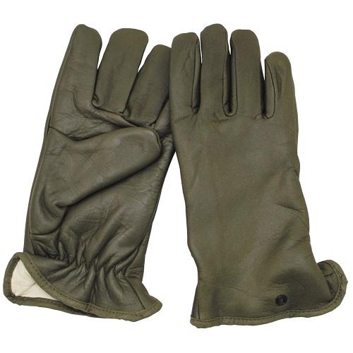 Перчатки армии Франции, олива, новые
