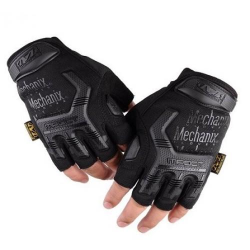 Перчатки беспалые Mechanix M-Pact, черные, новые