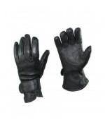 Перчатки кожаные армии Австрии, чёрные, б/у