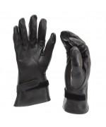 Перчатки кожаные армии Франции, черные, новые